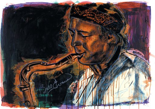Bill Evans playing Saxophone