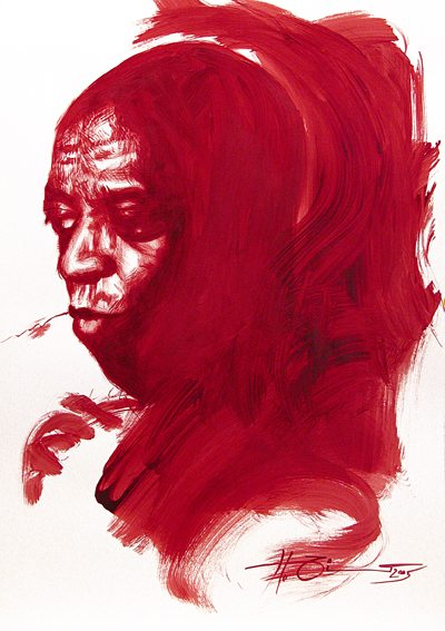 red Roy Haynes scetch