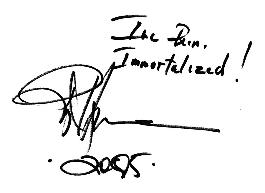 signed statement by Roy Hargrove